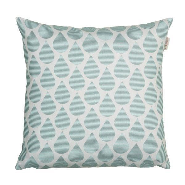 KISSENHÜLLE Beige, Blau 38/38 cm - Blau/Beige, Textil (38/38cm) - ESPRIT