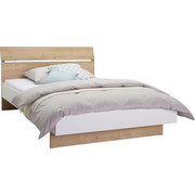 POSTEL - bílá/barvy dubu, Design, kompozitní dřevo (140/200cm) - Hom`in