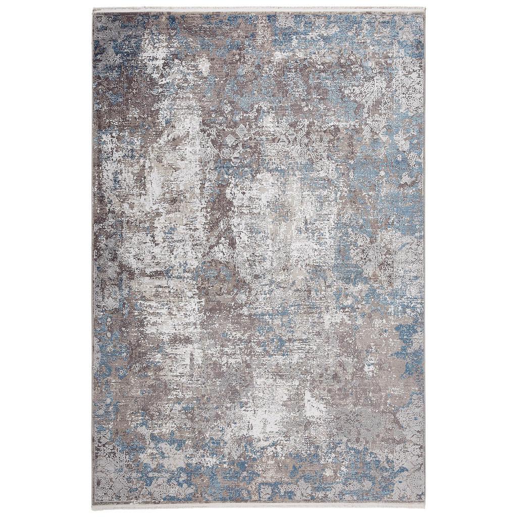 Dieter Knoll Vintage Teppich 80 150 Cm Blau