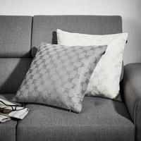 KISSENHÜLLE Grau 48/48 cm - Grau, KONVENTIONELL, Textil (48/48cm) - Joop!