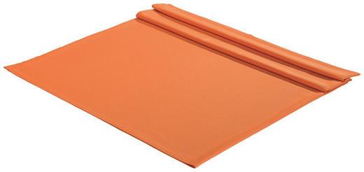 TISCHDECKE Textil Orange 135/220 cm - Orange, Basics, Textil (135/220cm)