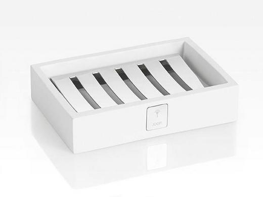 SEIFENSCHALE - Weiß, Design, Kunststoff (12,5/3/8,5cm) - Joop!