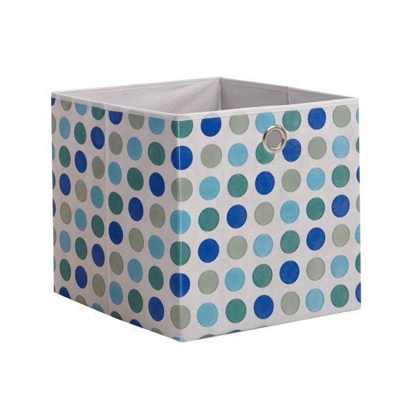 SKLOPIVA KUTIJA - plava, Design, tekstil (32,0/32,0/32,0cm) - BOXXX