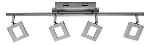 LED SVÍTIDLO - barvy chromu/barvy hliníku, Design, kov/umělá hmota (67,5/8/19cm) - Novel