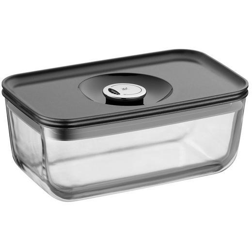 FRISCHHALTEDOSE 1,2 L - Klar/Grau, Basics, Glas/Kunststoff (13/21cm) - WMF