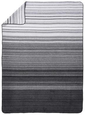 PLÄD - vit/ljusgrå, Klassisk, textil (150/200cm) - Novel