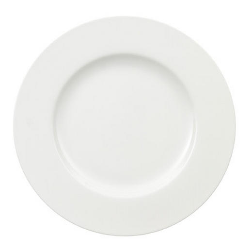 SPEISETELLER Bone China - Weiß, Basics (27cm) - VILLEROY & BOCH