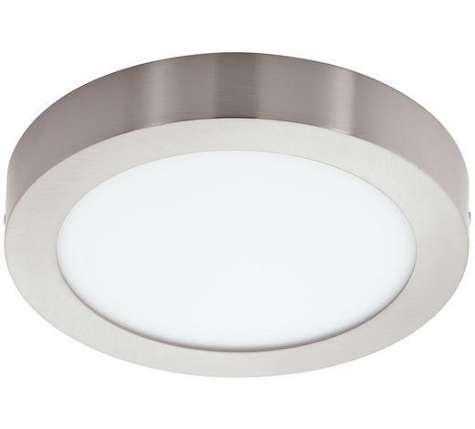 LED STROPNÍ SVÍTIDLO - bílá/barvy niklu, Konvenční, kov/umělá hmota (22,5/4cm)