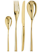 SAMBONET Besteckset  24-teilig  Edelstahl - Goldfarben, Basics, Metall (43,5/29,5/5,5cm)