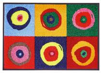 FUßMATTE 40/60 cm Multicolor  - Multicolor, Basics, Kunststoff/Textil (40/60cm) - Esposa