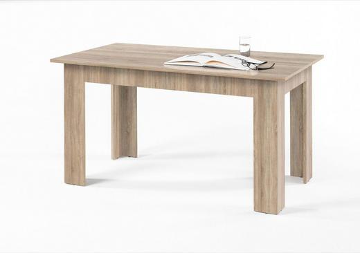 ESSTISCH Eichefarben - Eichefarben, Design (140/80/75cm) - Carryhome