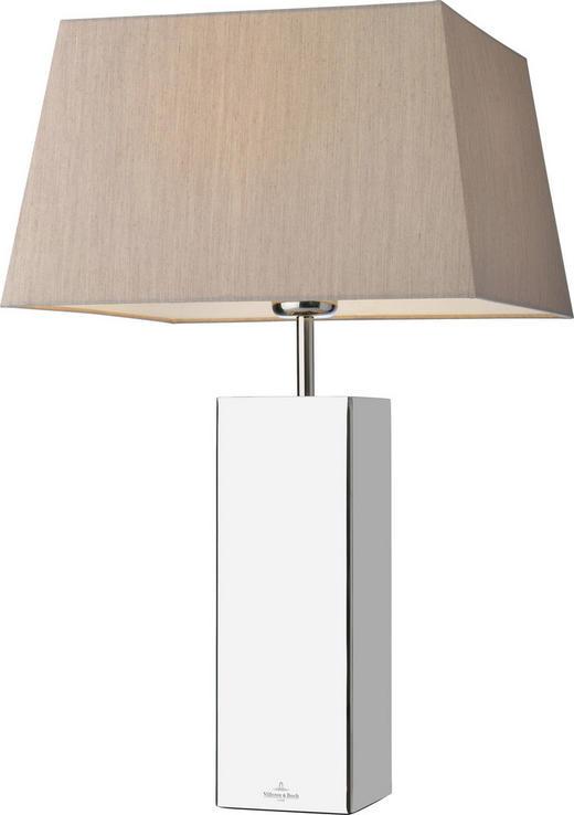 TISCHLEUCHTE - Edelstahlfarben/Beige, Design, Textil/Metall (32/53cm) - Villeroy & Boch