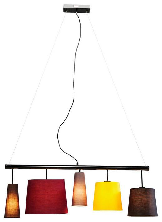 HÄNGELEUCHTE - Multicolor, LIFESTYLE, Textil/Metall (107/160/30cm) - Kare-Design