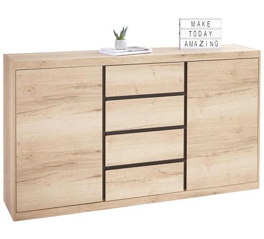 KOMODA SIDEBOARD, barvy dubu - barvy dubu, Konvenční, kompozitní dřevo (173/99/38cm) - Xora