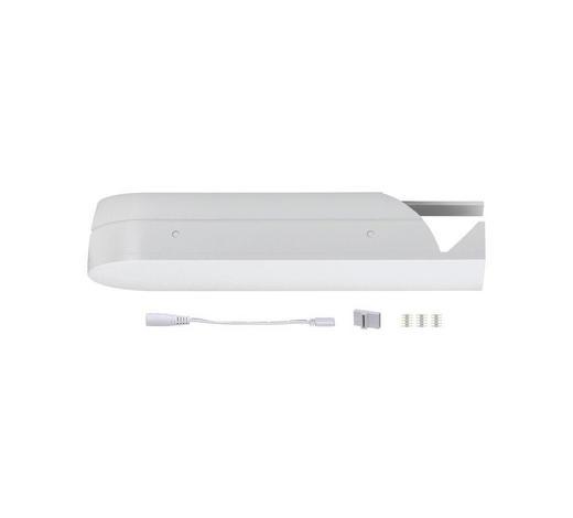 SCHIENENSYSTEM-VERBINDER - Weiß, Basics, Kunststoff (19/3,7/6cm)