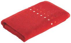 DUSCHTUCH 70/140 cm - Rot, KONVENTIONELL, Textil (70/140cm) - Esposa