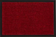 FUßMATTE 40/60 cm  - Dunkelrot, KONVENTIONELL, Textil (40/60cm) - Esposa