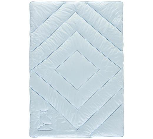 EINZIEHDECKE 135-140/200 cm - Hellblau, Basics, Textil (135-140/200cm) - Billerbeck
