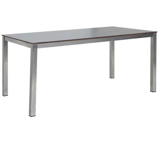 GARTENTISCH 200/90/74 cm   - Silberfarben/Hellgrau, MODERN, Kunststoff/Metall (200/90/74cm) - Amatio