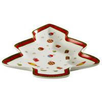 PLADANJ ZA SERVIRANJE - višebojno, Basics, keramika (22,86cm) - X-Mas