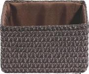 REGALKORB 19/15/12 cm   - Braun, Basics, Kunststoff/Textil (19/15/12cm) - Landscape