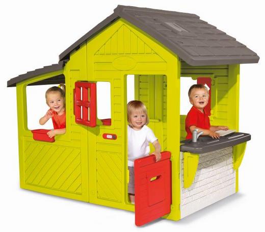 Spielhaus von Simba - Multicolor, Basics, Kunststoff (185/109/148cm) - Simba