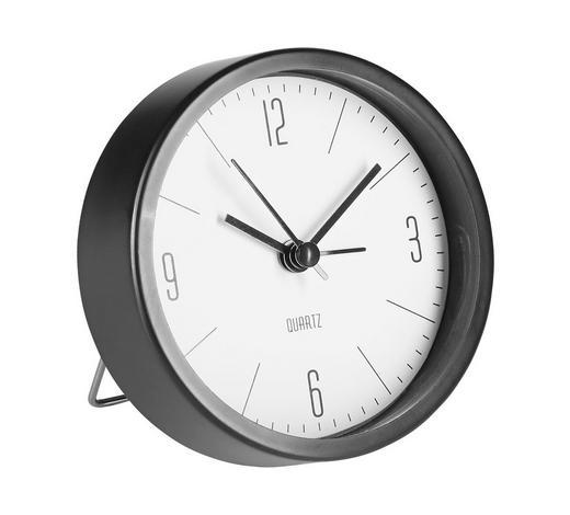 Wecker 9 cm   - Weiß, Basics, Kunststoff (9cm) - Boxxx