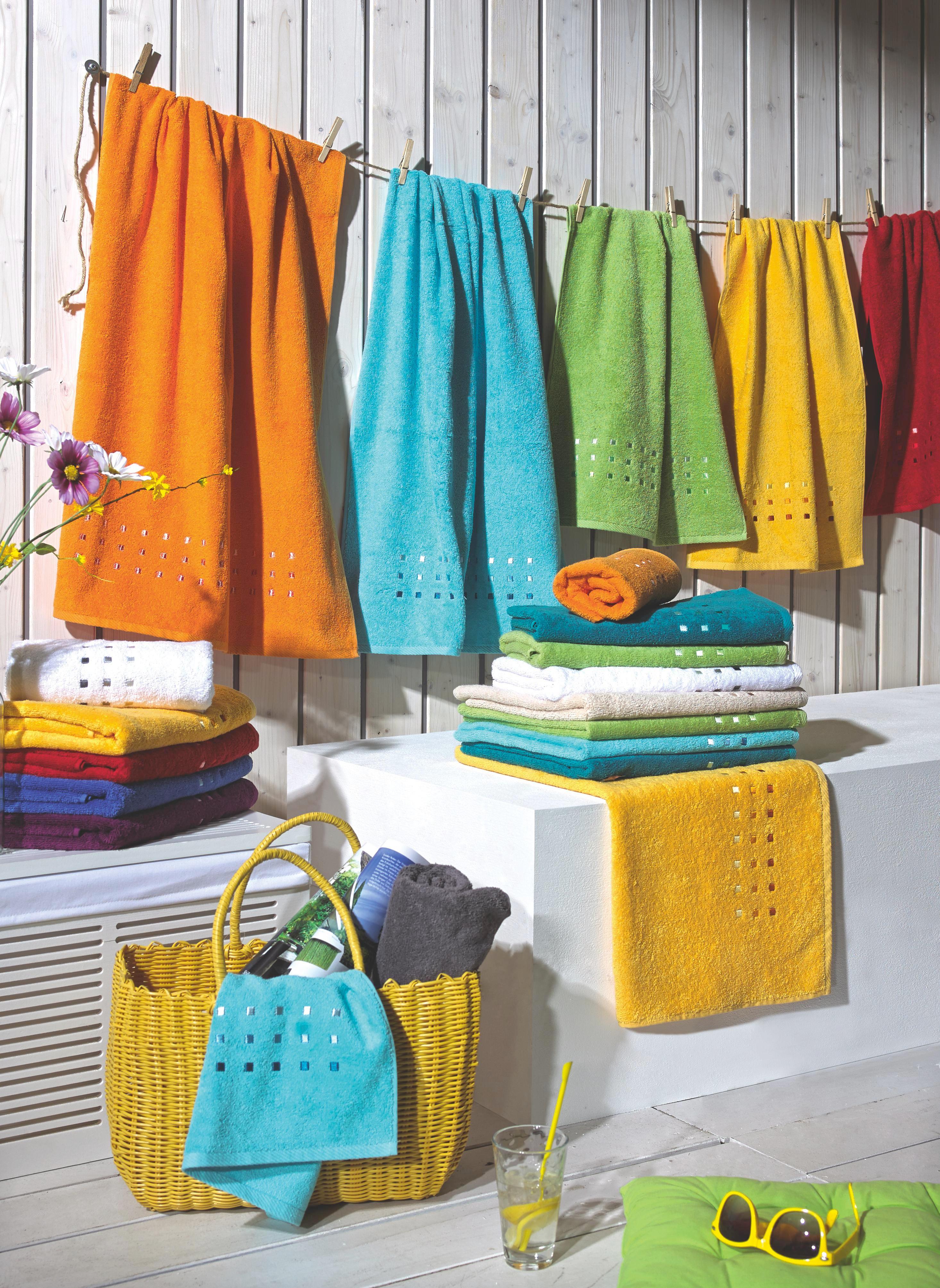 HANDDUK - pink, Basics, textil (50/100cm) - ESPOSA
