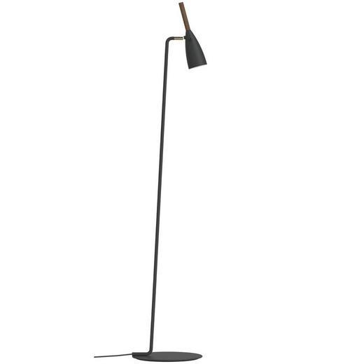 STEHLEUCHTE - Schwarz, MODERN, Holz/Metall (10/150cm)