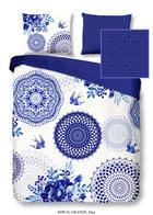 BETTWÄSCHE Satin Blau 135/200 cm - Blau, Textil (135/200cm)