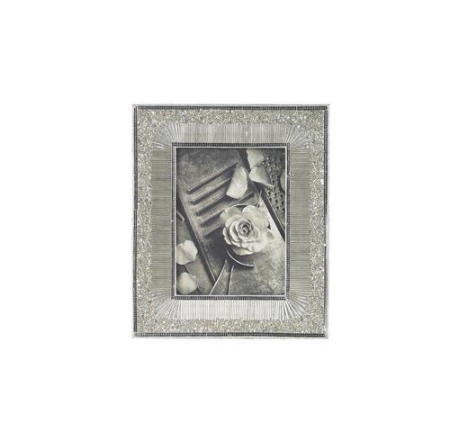 BILDERRAHMEN in Silberfarben  - Silberfarben, Basics, Glas/Holz (30/25,5cm) - Ambia Home