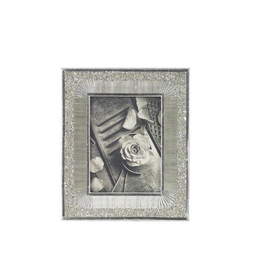 BILDERRAHMEN in Silberfarben - Silberfarben, Glas/Holz (30/25,5cm) - Ambia Home