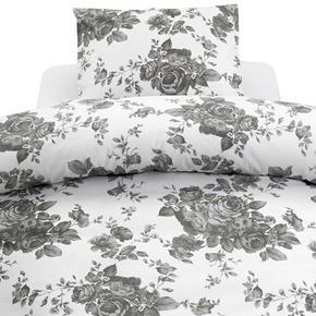 PÅSLAKANSET - vit/grå, Basics, textil (150/210cm)