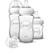 FLÄSCHCHENSET - Basics, Glas/Kunststoff (21,1/18,7/7,2cm) - Avent