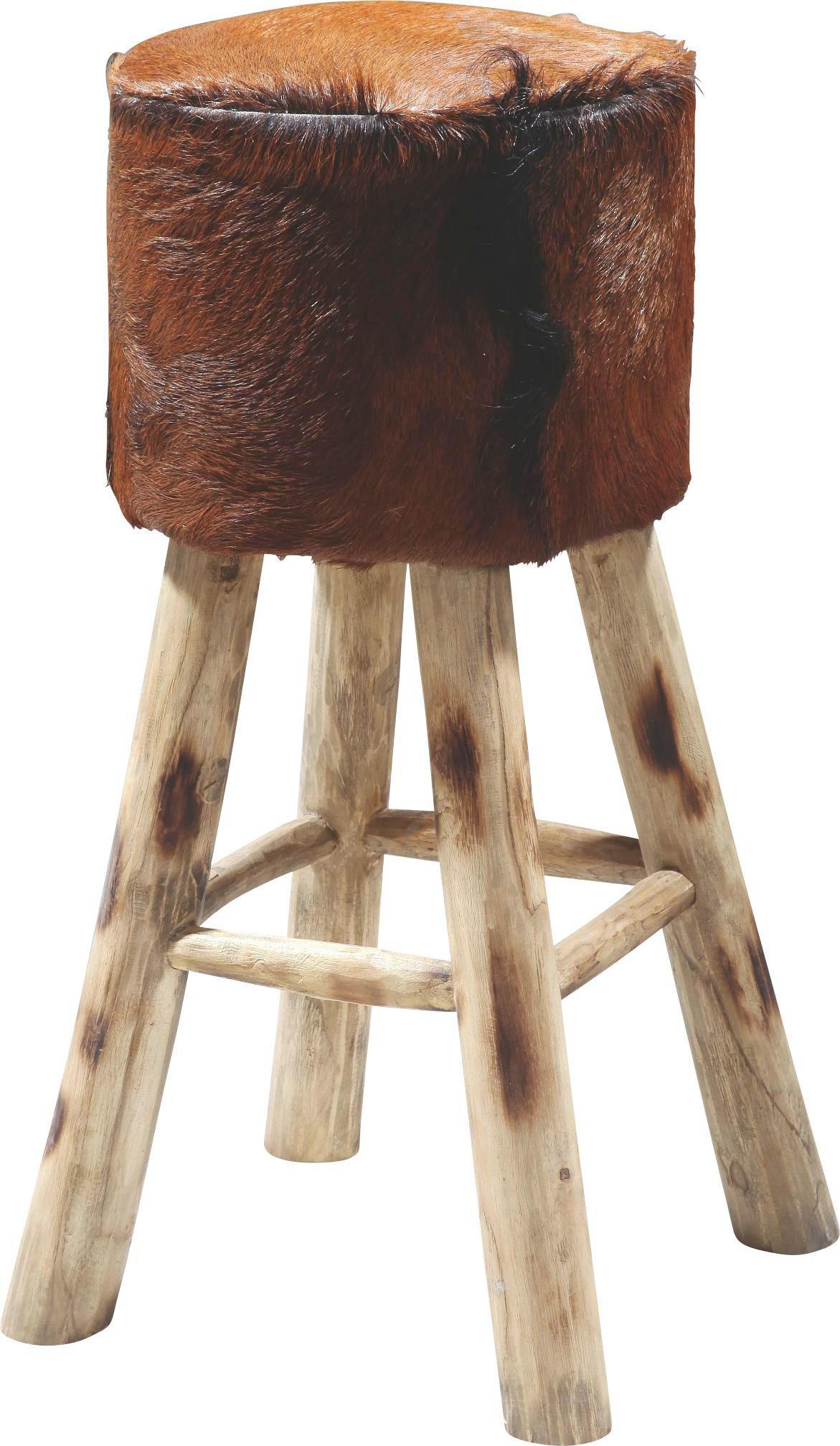 Awesome Barhocker In Holz Leder Beige Braun Naturfarben Beigebraun  Lifestyle With Barhocker Holz Mit Lehne
