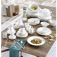 TERRINE Fine China  - Weiß, Basics, Keramik (18,2/14/0,68cm) - Villeroy & Boch