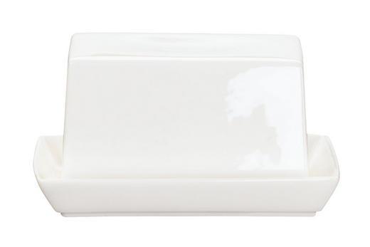 BUTTERDOSE Keramik Fine Bone China - Weiß, Basics, Keramik (8.8/11cm) - ASA
