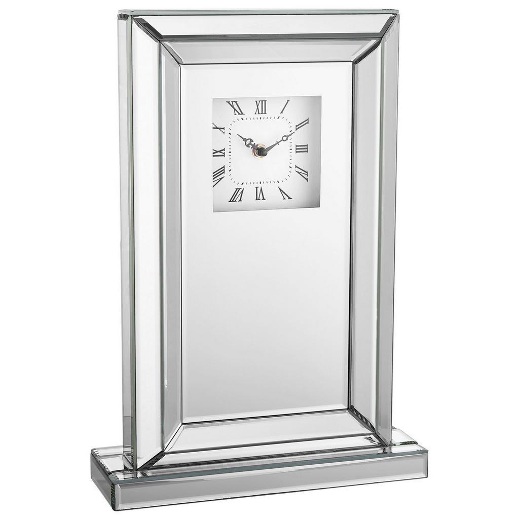 Xora TISCHUHR Grau | Dekoration > Uhren > Standuhren | Glas | Xora