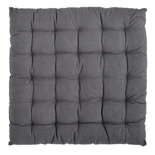 SITZKISSEN Grau 40/40 cm - Grau, Design, Textil (40/40cm) - Boxxx