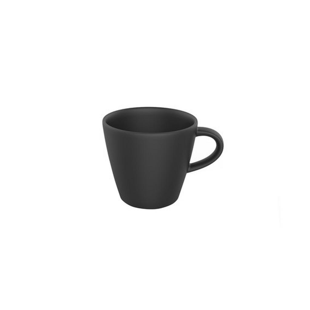 Image of Villeroy & Boch Espressotasse 100 ml , 10-4239-1420 , Schwarz , Keramik , Uni , 003407106010