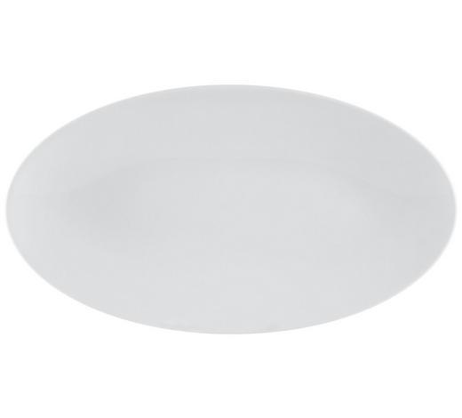 SERVIERPLATTE - Weiß, Design, Keramik (33/18cm) - Seltmann Weiden
