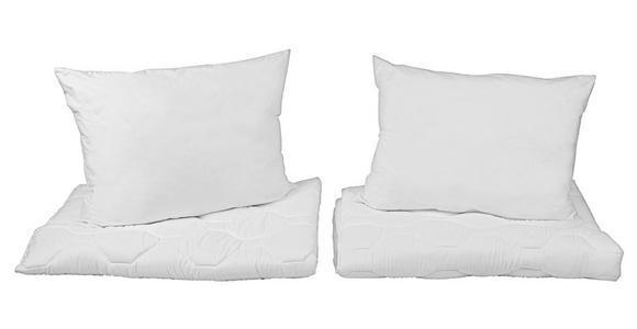 Bettenset Pauline - Weiß, KONVENTIONELL, Textil - Primatex