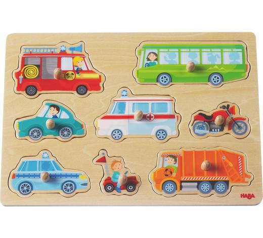 Greifpuzzle - Multicolor, Basics, Holz (30/21cm) - Haba