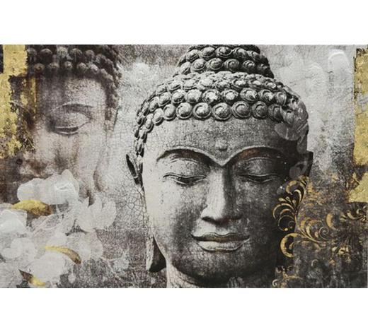 Zen BILD  - Multicolor, LIFESTYLE, Holz/Textil (120/80cm) - Monee