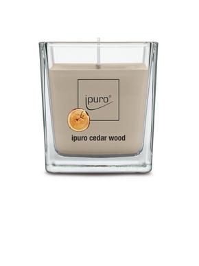 LJUS I GLAS - beige, Basics, glas (7/7/6,3cm) - Ipuro