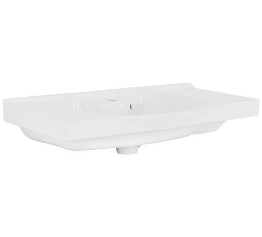 UMYVADLO - bílá, Konvenční, keramika (92/47cm) - Xora