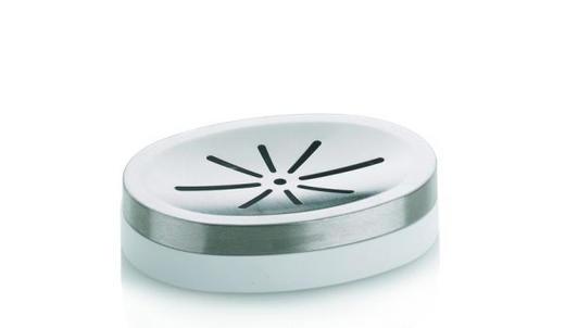 SEIFENSCHALE - Weiß, Basics, Kunststoff (12/2,5cm)