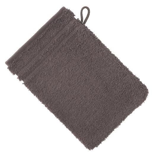 WASCHHANDSCHUH  Dunkelgrau - Dunkelgrau, Basics, Textil (22/16cm) - VOSSEN