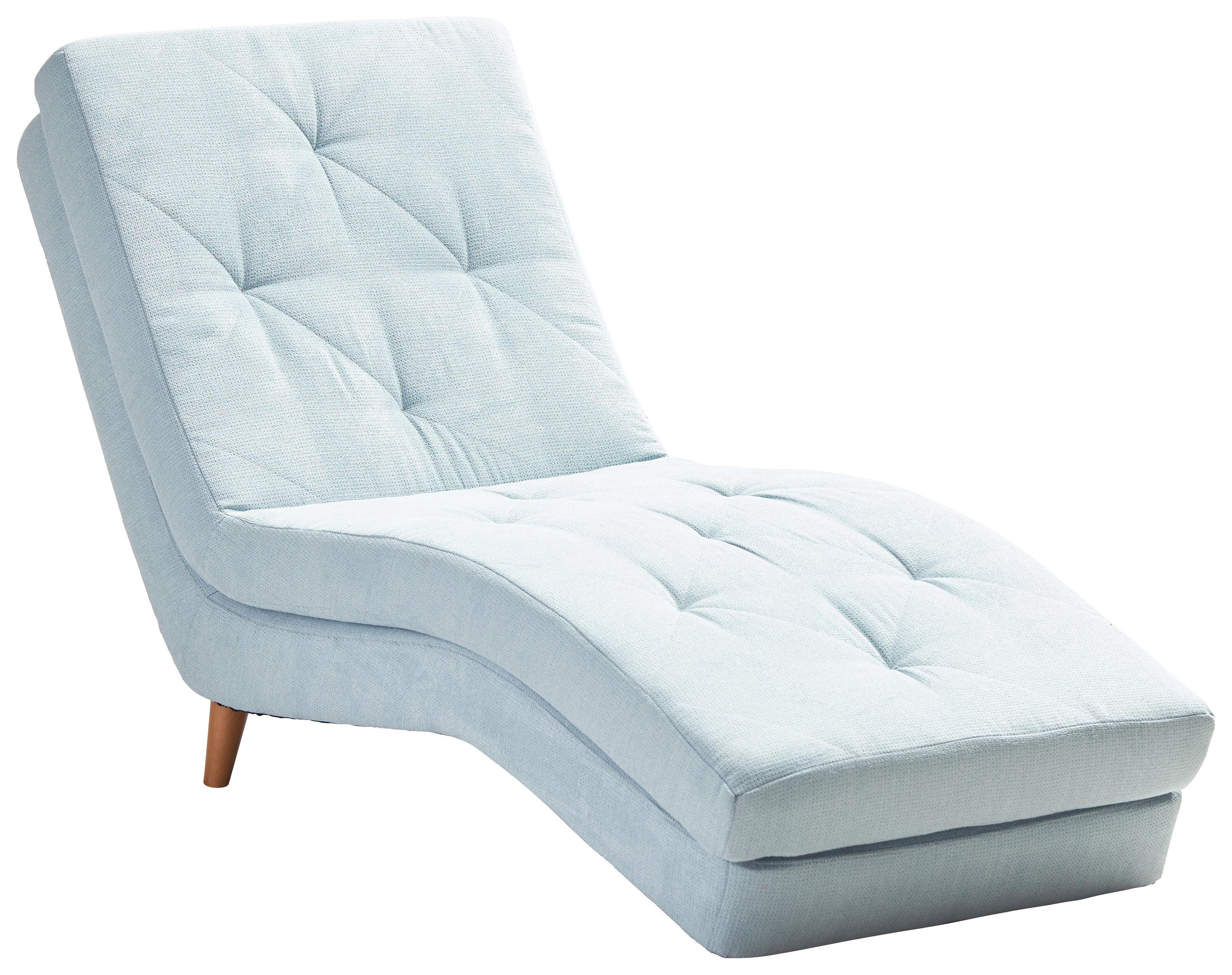 cool liege chenille hellblau design holztextil with relaxliege verstellbar