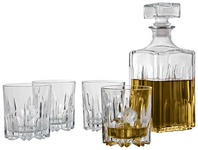 WHISKY-GLÄSERSET 5-teilig - Transparent, Basics, Glas - Novel